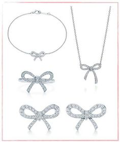 5d5b357bc Tiffany Bow:Earrings   Things I Want...but certainly don't need ...