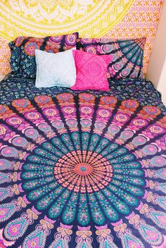 Lady Scorpio Mandala Duvet & Bedroom Decor