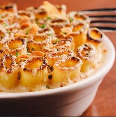 Arlington Club elevates a classic with their smoked gouda mac and cheese. Give it a fun presentation for the holidays by standing the rigatoni upright like cheese-covered nutcracker soldiers.