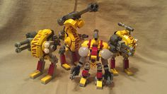 Team Yellow (The Crimson Tigers) by dark_syntax on Flickr