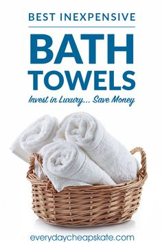 Best Inexpensive Bath Towels—Invest in Luxury, Save Money Egyptian Cotton Towels, Turkish Cotton Towels, Best Bath Towels, Best Bed Sheets, Cotton Plant, Trade Association, Luxury Towels, White Towels, Bath Linens