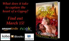 The Gypsy is available a few days early! Get your copy of Elise Marion's #NewRelease now! #historical #romance