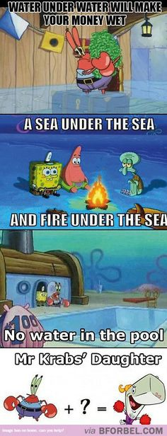 Spongebob Logic…