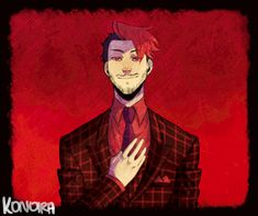 HANNIBAL AU - Mark by Konoira I love this artist  and the fact that she's so young (14 last I checked) is amazing!