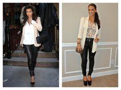 Rocking Kim kardashian look for less....