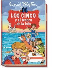 Los cinco y el tesoro de la isla. ESO B Enid Blyton, Comic Books, Comics, Cover, Children Books, Islands, Comic Book, Comic Book, Blanket