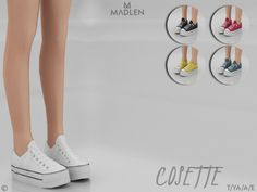 Cosette Shoes for The Sims 4