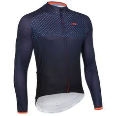dhb Blok Long Sleeve Micro Roubaix Jersey