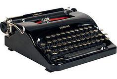 1930s Smith-Corona Sterling Typewriter