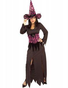 Glamorous heksen kostuum