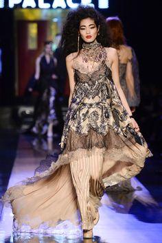 Jean Paul Gaultier #VogueRussia #couture #springsummer2016 #JeanPaulGaultier #VogueCollections