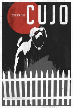 Cujo by Stephen King...I can never read this book again or see the movie, was just too scared of that damn dog!
