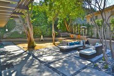 Square Cement Design With Pebbles - Yahoo Image Search Results