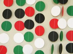 Pizza Party Chef Theme Red, Green, Black and White Party Decoration Paper Garland for Photo Booth Prop, Birthday Party, 10 feet Más Italian Party Decorations, Black And White Party Decorations, Birthday Party Decorations, Party Themes, Party Ideas, Pizza Party Birthday, Birthday Parties, Themed Parties, Italy Party