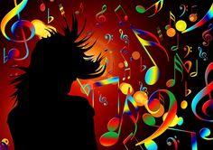 Tanzen, Noten, Violinschlüssel, Klang, Konzert