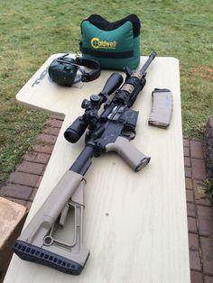 Rock River Arms Tactical Operator 2, Nikon P-223 4-12x40 BDC 600, Venom Tactical 45 degree irons, Magpul STR, Magpul MOE +