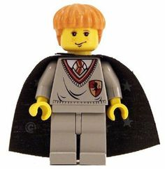 "Ron Weasley (Gryffindor Shield Torso, YF) - LEGO Harry Potter 2"" Figure by LEGO. $14.99. Great Lego Harry Potter minifig!. Ron Weasley is a Harry Potter Minifigure. He was first released in 2001, and has appeared in a large number of Harry Potter-themed sets, though not nearly as many as his best friend Harry."