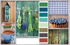 FW 14/15 Color Inspirations: Rustic