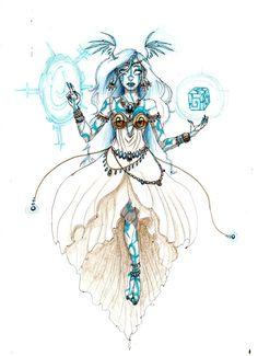 Eliotrope Goddess by Razlaf