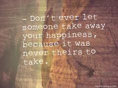 let's run away forever.
