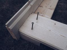 Hur man bygger en planteringslåda Planter Boxes, Planters, Diy And Crafts, Garden Ideas, Gardening, Backyard Farming, Alternative, Window Boxes, Lawn And Garden