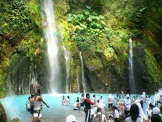 Tree Colors Waterfall, Berastagi, Sumatera Utara, Indonesia :))