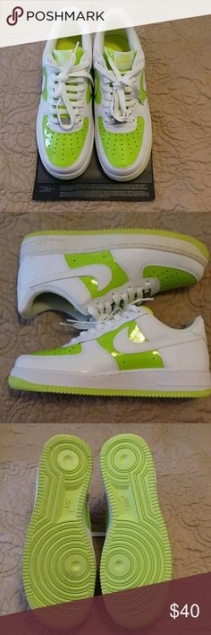 MENS Nike air force 1 82 Perfect condition, certificate of authenticity included. Original box.  Nike Shoes Sneakers