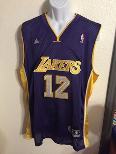 c66d9ffc3c1 Details about Adidas NBA Jersey LOS ANGELES Lakers Dwight Howard White sz L