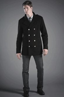 vaute couture peacoat for the men.  would love to buy this for my sweetheart.