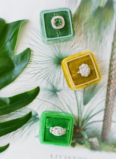 Photography : Jose Villa Photography | Rings : Trumpet & Horn Read More on SMP: http://www.stylemepretty.com/2015/07/14/authentic-colorful-cuban-wedding-inspiration/