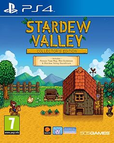Stardew Valley: Collector's Edition for PlayStation 4 Get a physical copy of one of the best games of Jeux Xbox One, Ps4 Or Xbox One, Xbox One Games, Ps4 Games, Games Consoles, Playstation, Harvest Moon, Stardew Valley Xbox One, Microsoft Windows
