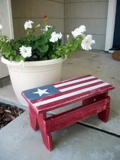 So cute!! Need this for my porch!