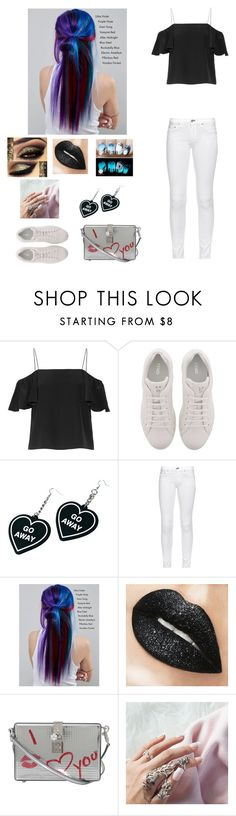 """""""Untitled #295"""" by thebeauty98 ❤ liked on Polyvore featuring Fendi, Witch Worldwide, rag & bone, Manic Panic NYC and Dolce&Gabbana"""