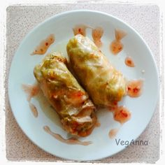 Stuffed Cabbage Rolls with Quinoa ! Bon Appetit !