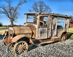 1919 hearse