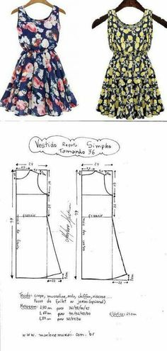 Amazing Sewing Patterns Clone Your Clothes Ideas. Enchanting Sewing Patterns Clone Your Clothes Ideas. Sewing Paterns, Dress Sewing Patterns, Sewing Patterns Free, Clothing Patterns, Sewing Dress, Diy Dress, Sewing Clothes, Fashion Sewing, Diy Fashion