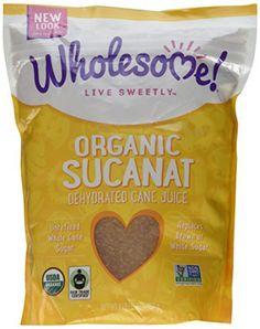 Wholesome Sweeteners Fair Trade Organic Sucanat Brown Sugar -- 2 lbs - http://goodvibeorganics.com/wholesome-sweeteners-fair-trade-organic-sucanat-brown-sugar-2-lbs/
