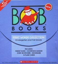 Scholastic Bob Books Sight Words Collection Scholastic,http://www.amazon.com