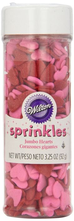 Jumbo Hearts Sprinkle Mix | 3.25 oz