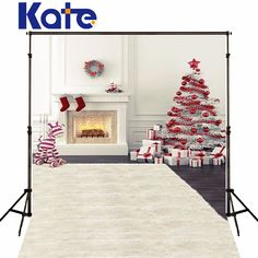 Find More Background Information about Christmas Background  Photography Backdrops Christmas Tree House balls White Wall Backgrounds For Photo Studio Kate Backdrop Gif,High Quality gift bo,China gifts dad Suppliers, Cheap backdrop kit from Background Made in China on Aliexpress.com