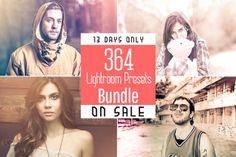 Get (SALE) 364 Lightroom Presets Bundle on Creative Market.