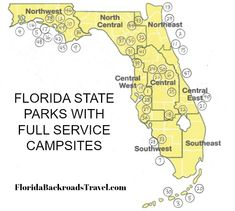 Camping in Florida: Thousands of Great Places You Can Camp - Herzlich willkommen Rv Camping Tips, Travel Trailer Camping, Camping Places, Camping Spots, Van Camping, Camping Ideas, Camping 2017, Camping Survival, Travel Trailers