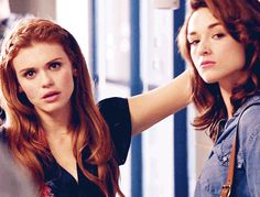 """- """"what ON EARTH are they doing now?"""" - """"Let me see.. idiots. As always."""" - """"I can't even let them alone for 2 minutes"""" *rolls eyes* (Princess and Fleur)"""