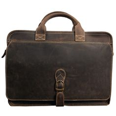 Texas Leather Briefcase