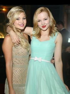 "Hey we are Olivia and Dove Cameron!!!!! We are twins. We are 17 and single. Dove) I star as Liv and Maddie on Disney's ""Liv and Maddie""! Olivia) I star on Disney's ""Kickin' It"" as Kim Crawford and ""I didn't do it"" as Lindy Watson!!!!! Intro????"