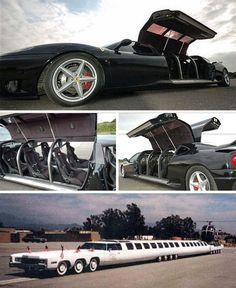These are some Wild limos Weird Cars, Cool Cars, Luxury Rv, Party Bus, Amazing Cars, Awesome, Sweet Cars, Power Boats, Big Trucks