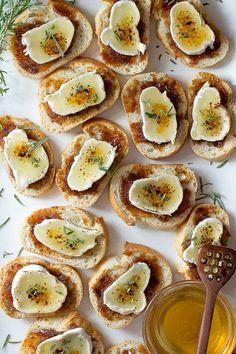Brie Creme Brulee Crostini | Foodness Gracious