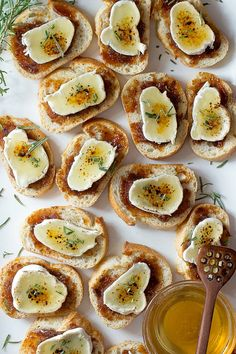 Brie Creme Brulee Crostini | Foodness Gracious