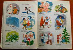 Aapisen aukeama, 60-luku Old Books, Finland, Childhood Memories, Nostalgia, Christmas Decorations, Miniatures, Cottage, Pop, Retro