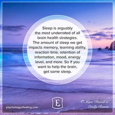 Feeling foggy? Sleep may be your best supplement when it comes to a clear mind. The best part is, it's free!